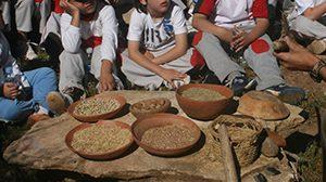 Algaba de Ronda. Taller La Molienda y otras actividades domésticas prehistóricas.
